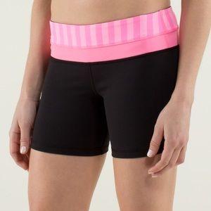 Lululemon reversible Groove shorts